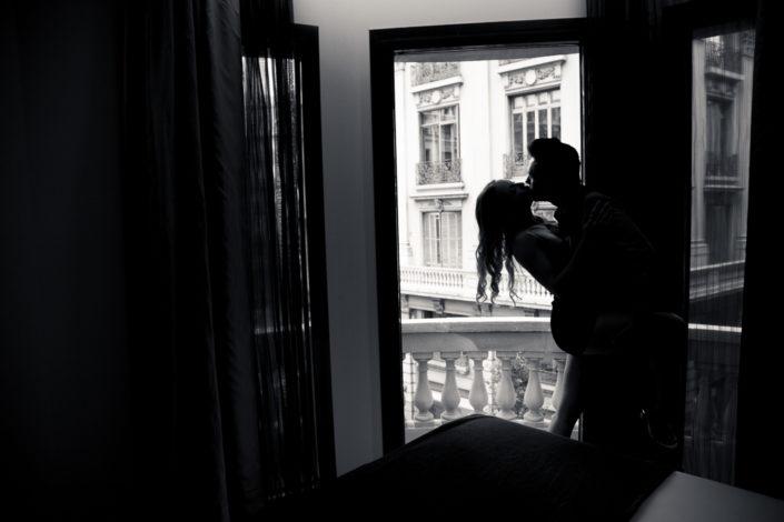 Fotografía intima parejas boudoir