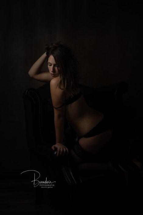 Fotografía Boudoir en estudio